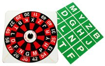 Alphabet Roulette - Magic Game From Royal (Roulette Wheel Costume)