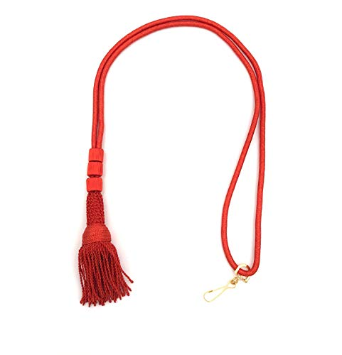Mercy Robes Bishop Tassel Pectoral Cord (Scarlet Red) ()