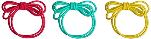 L. Erickson Double Loop Bow Pony 3-Pack - Tahiti