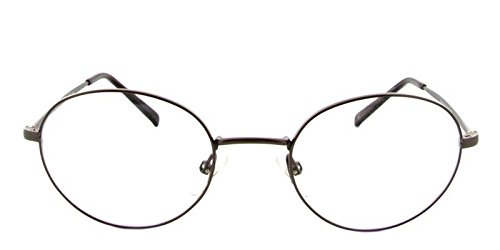 9a2b16f70d4 Image Unavailable. Image not available for. Color  Giorgio Armani Ga808  Color CRL Brown Titanium Metal Round Eyeglasses ...