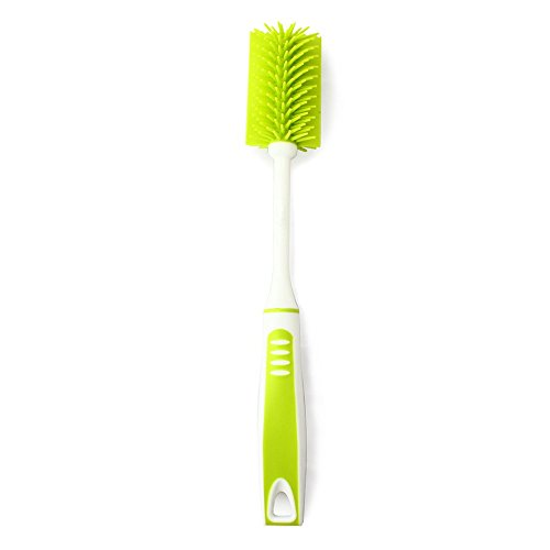 Nature Worship Extended Cup Cleaning Brush, Long Handle Nano Bottle Brush,Green by NATURE WORSHIP