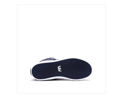 Supra Skytop S18091, Sneaker uomo Midnight Leather/White