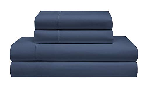 - Elite Home Extra-Soft Deep-Pocketed Cotton Sheet Set with Cooling Technology