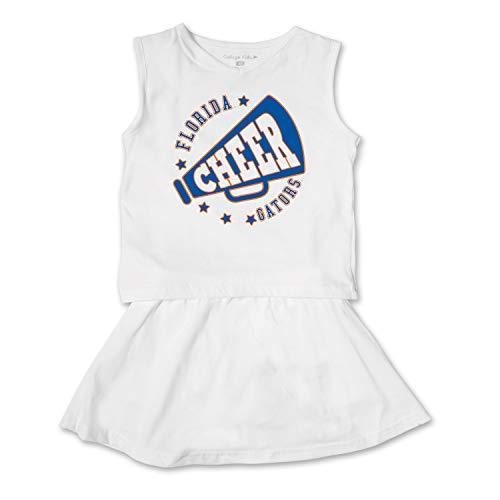 - NCAA Florida Gators Toddler Girl Cheer Set, 2 Toddler, White