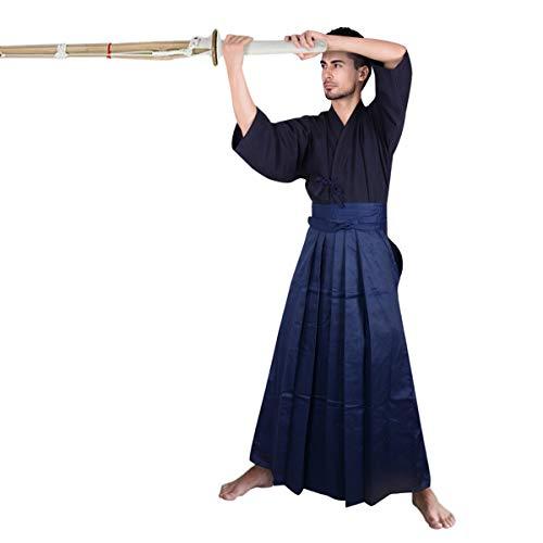 Samurai Hakama Costumes - Men's Kendo Hakama Aikido Japanese Samurai