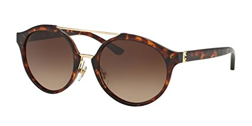Tory Burch Women's 0TY9048 Dark Tortoise/Dark Brown Gradient - Sunglass Name Brand