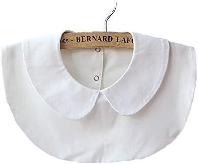 GUEQUITLEX Detachable Collar Half-Shirt Blouse Collar False Collar for Women Lace Chiffon Fake Collars
