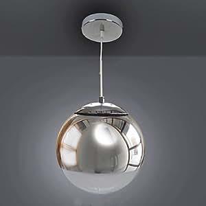 Light Lamp Modern Pendant Light in Metal Globe Feature , 110-120V