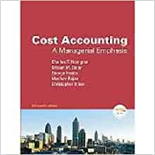 cost accounting horngren 13th edition pdf