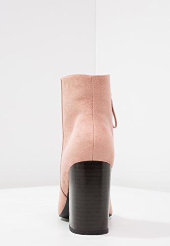 Bloque y Albaricoque Ante Gamuza amp;ODD Alto Botas con Botines Elegantes de Mujer Tacón de Even Tacón Botas con de Cómodas de de Botas Piel Sa8nxgPq