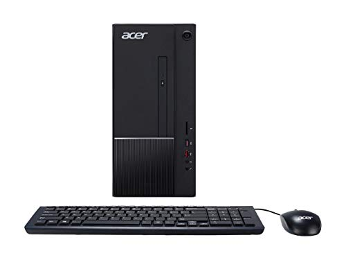 2019 Acer Aspire Flagship Desktop | Intel Core i5-8400 6-Core 2.8 GHz | 8GB DDR4 Memory | 512GB SSD | DVD-RW | 802.11ac | GbE LAN | Included Keyboard & Mouse | USB-C | Windows 10