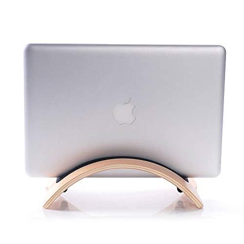 ACAO Wooden MacBook Laptop Holder Brich Desktop Vertical Stand - MacBook Pro Notebook