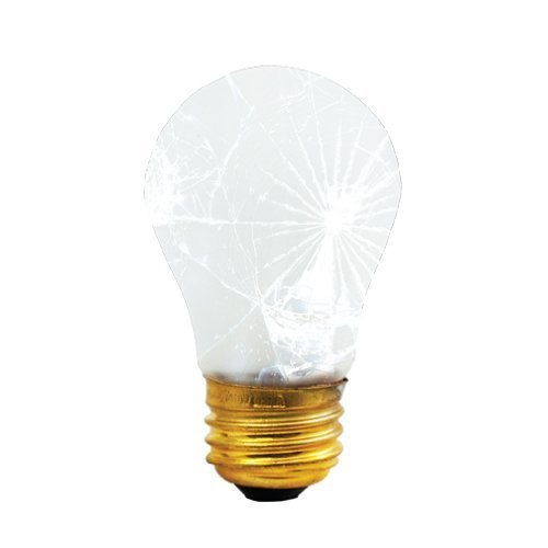 Bulbrite 40A15/TF 40-Watt Incandescent Shatter Resistant A15, Medium Base, Frost [12 Pack] ()