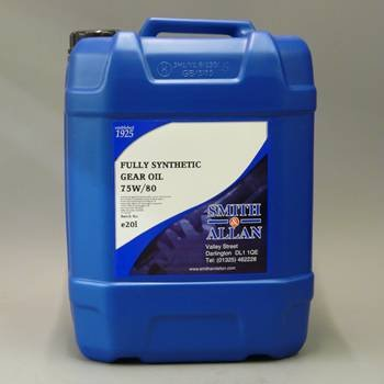 Smith & Allan 75w/80 Fully Synthetic Gear Oil API GL-4 : Size - 5lt