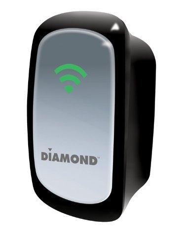 Diamond Multimedia 300Mbps 802.11n Wireless Repeater Range Extender with Wireless Access Point and Wireless Bridge Device (Diamond Bridge)
