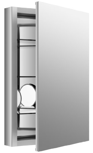Kohler Mirrored Cabinet (KOHLER K-99003-NA Verdera 20-Inch By 30-Inch Slow-Close Medicine Cabinet With Magnifying Mirror)