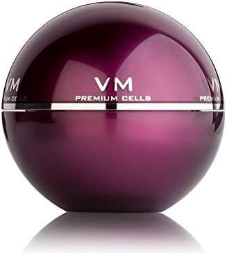 Kosei - VM Premium Cells - Crema Tratamiento Antiedad - 50 ml - Tratamiento Antiarrugas - Con Vitamina E - Efecto Reafirmante - Aporta Luminosidad - Antioxidante - De Fácil Absorción - Vegano