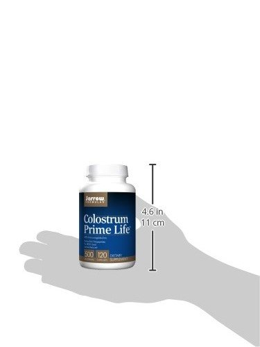 Jarrow Colostrum Prime Life (500mg, 120 Capsules): Amazon.es: Salud y cuidado personal