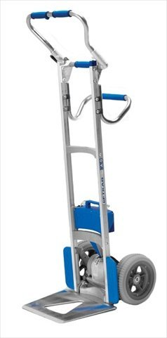Wesco 274157 Power Liftkar SAL Stair Climbing Fold Frame Hand Truck, Microcellular Tire, 300-lb. Capacity, 18'' Width x 61'' Height