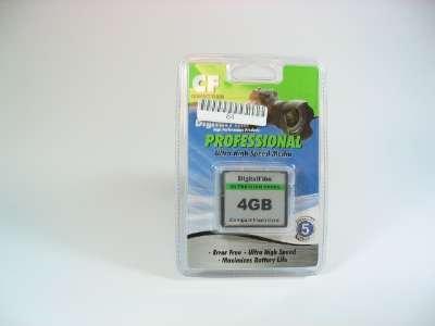 Digital Film 33004 4GB Compact Flash Card Ultra Hi Speed