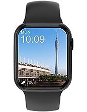 """Smartwatch Ivo DT100 Tela HD IPS 1.75"""" Preto"""