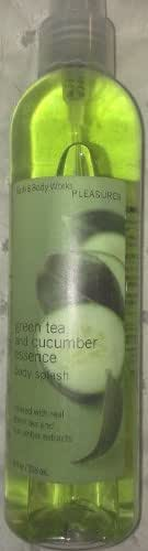 Green Tea and Cucumber Essence Body Splash 8 Oz