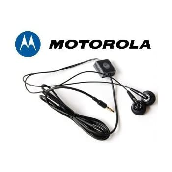 Amazon.com: Motorola Original OEM Stereo Headset for