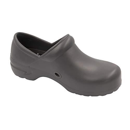 Cherokee Padded Collar - Cherokee Women's Anyware GUARDIANANGEL Footwear SR Antimicrobial Plastic Stepin Nursing Shoe