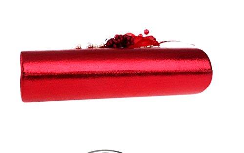 Soirée mariage main noir idées Sac Sac à couleur bal motifs Pochette à bleu mariée Bleu Dames pour bandoulière cadeaux Soirée rouge Sac Prom bandoulière à Sac à Fleur de Fw1Ba7q