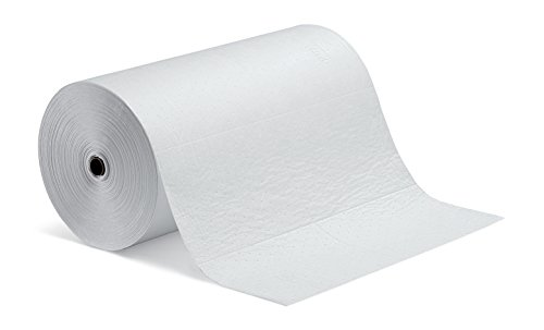 New Pig Oil-Only Absorbent Mat Roll, Absorbs Oil-Based Liquids, Repels Water, Heavyweight, 40-Gal Absorbency, 150' L x 30