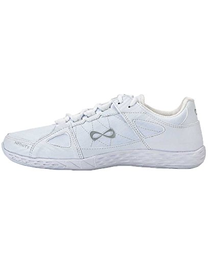 Nfinity NF-1013-0000 Rival Cheer Shoe, White, Size 7