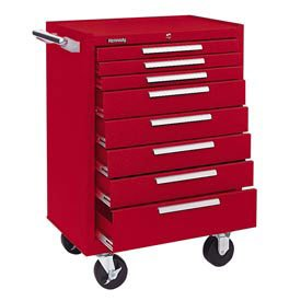 "Kennedy Manufacturing 378XR 27"" 8-Drawer Industrial Rolle..."