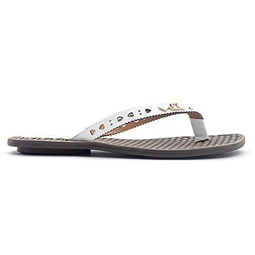 3e9e55c4e491 Tchocco Estrela Tong confort femme - Blanc  Amazon.fr  Chaussures et Sacs