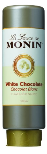 Monin Sauce - 500ml White Chocolate Monin White Chocolate Sauce