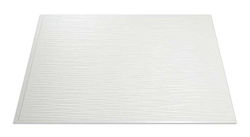 Fasade Easy Installation Ripple Gloss White Backsplash Panel for Kitchen and Bathrooms (18