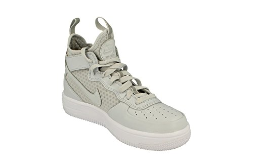 Mid Force Shoes Pure Pure Top Platinum Ultraforce 864014 Air Hi 002 white NIKE 1 Mens Platinum Trainers Sneakers qIw45HH