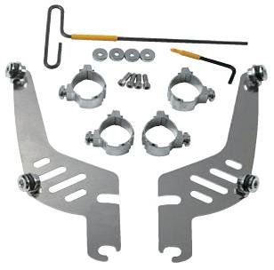 Quick-Change Mount Kit for Fats/Slim for Yamaha XV1700PC Road Star Warrior 2002-2008 - Memphis Shades MEM9975