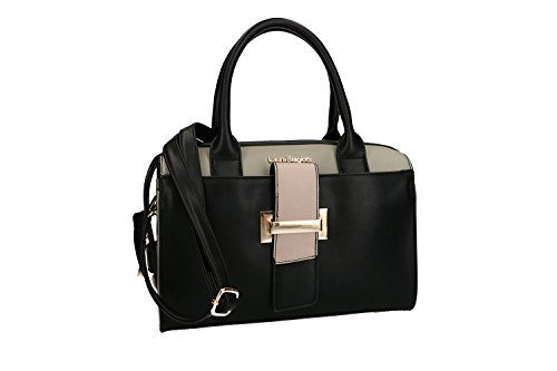 woman strap BIAGIOTTI Bag VN1587 strap black shoulder shoulder LAURA woman Bag LAURA XBCw7q