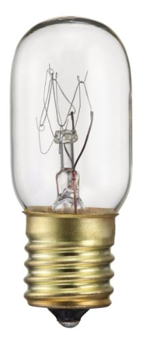- Philips Appliance T7 Light Bulb: 2800-Kelvin, 25-Watt, Intermediate Base