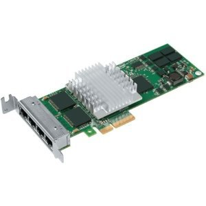 Intel EXPI9404PTLBLK-1PK PRO/1000PT 4PORT - OEM SINGLE 10/100/1000 GBE PCIE LP QUAD NIC by INTEL - NETWORKING