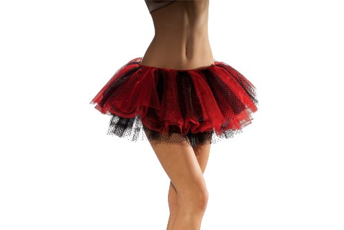 Secret Wishes Lady Bug And Tutu, Red/Black, One Size - Adult Lady Bug Costumes
