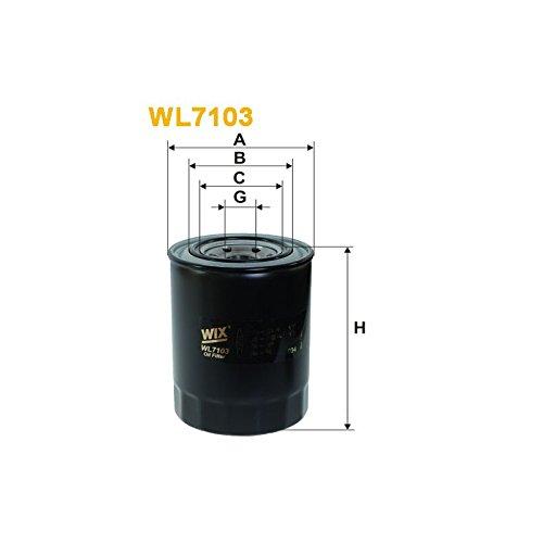 Wix Filters WL7103 Oil Filter: