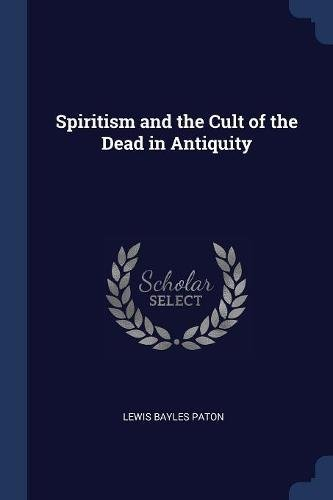 Download Spiritism and the Cult of the Dead in Antiquity pdf epub