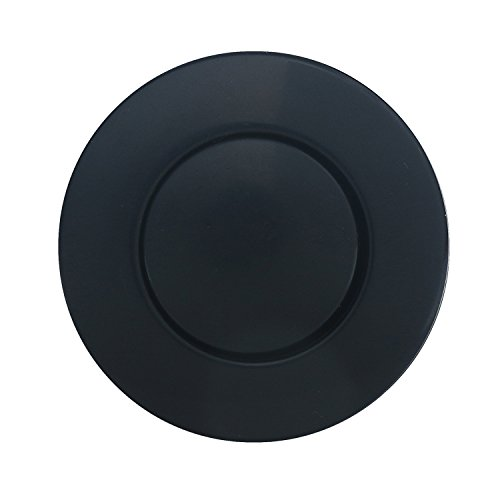 Sink Top Air Switch Kit, Garbage Disposal Part Built-Out Adapter Switch (LONG BLACK PLASTIC BUTTON) by CLEESINK by CLEESINK (Image #1)