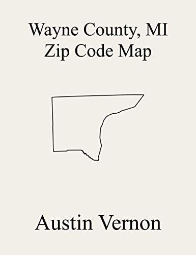 Wayne County, Michigan Zip Code Map: Includes Grosse Pointe Farms, Grosse Pointe Park, Grosse Pointe Woods, Hamtramck, Harper Woods, Highland Park, Inkster, ... Melvindale, Northville, Plymouth, River Rou (Northville Woods)