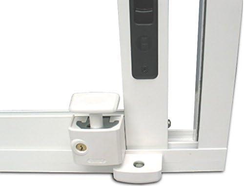 Abus FTS 3003 B C - Cerrojo de presión con soporte para ventana o puerta corredera marrón blister: Amazon.es: Bricolaje y herramientas