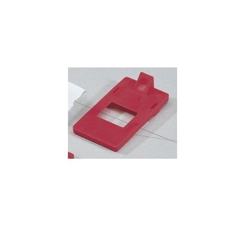 Single-Pole Breaker Lockout Cleat 277V Pack of 25 pcs Ideal 44-785