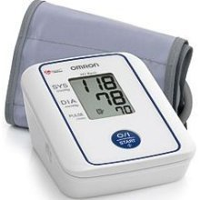 Omron M2 Basic Automatic Monitor - Omron Blood Pressure Kit