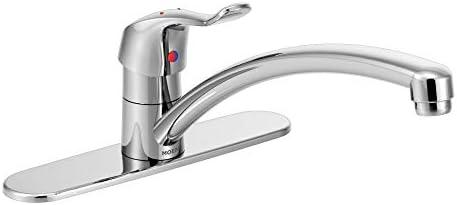 Moen 8711 Chrome One-Handle Kitchen Faucet