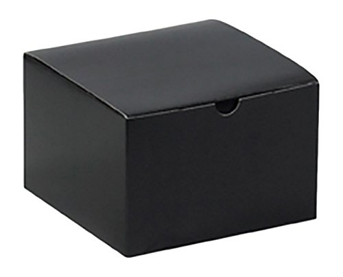 retailsource-gb664bkx5-6-x-4-black-gloss-gift-boxes-pack-of-5